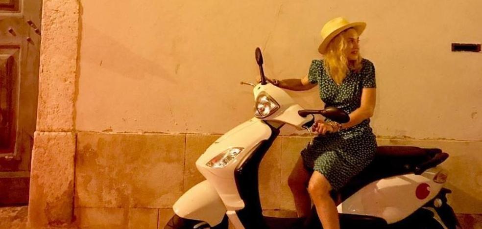 Madonna cabalga Lisboa