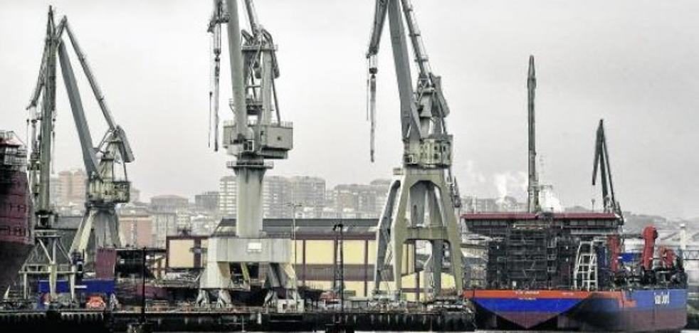 La Naval busca cómo terminar los buques en construcción