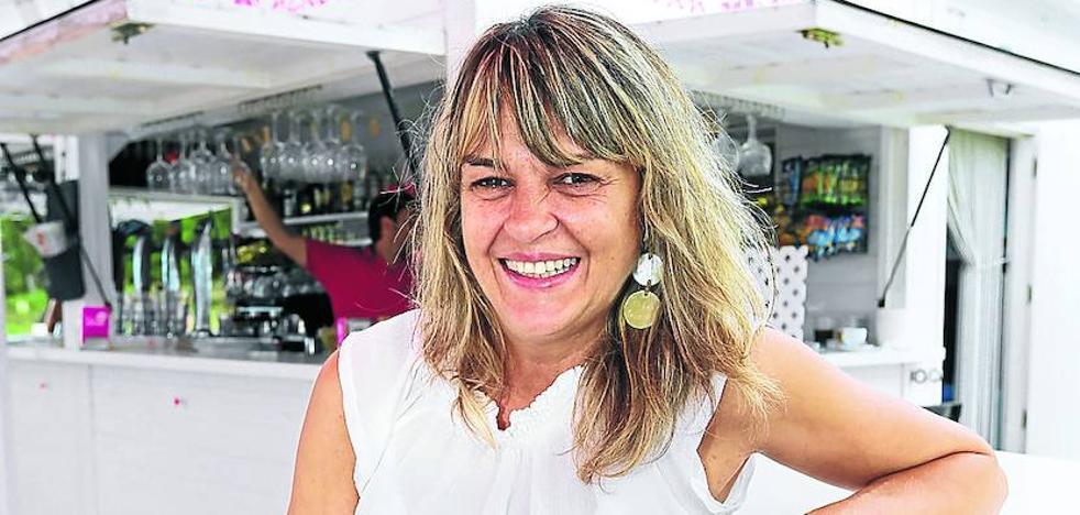 Amaya Pérez Alonso: «Hacemos sardinas a la brasa, me recuerda a mis veranos en Torrevieja»