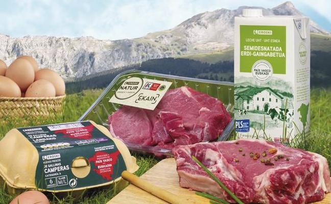 Eroski apuesta por los productos locales en sus marcas