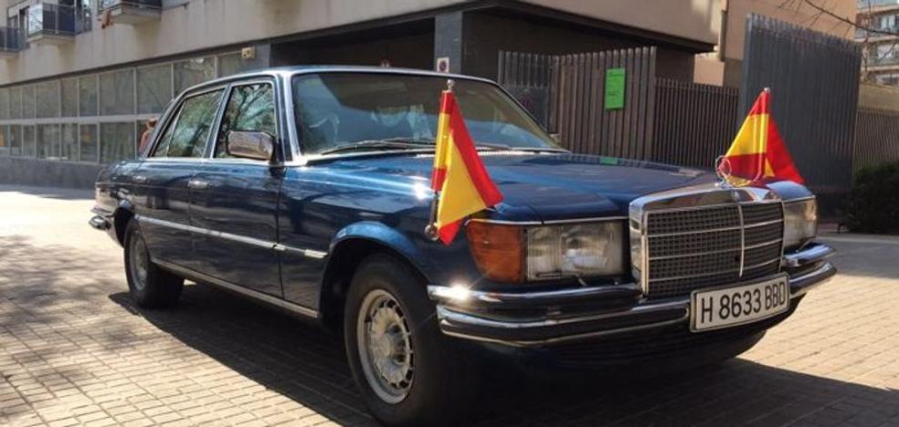 Subastado por casi 40.000 euros el Mercedes blindado del Rey Juan Carlos