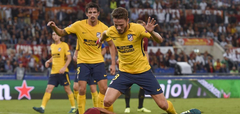 El Atlético no encuentra el camino al gol en Roma