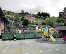 El Ayuntamiento de Erandio encargará un estudio de la seguridad en el colegio Altzaga Bekoa