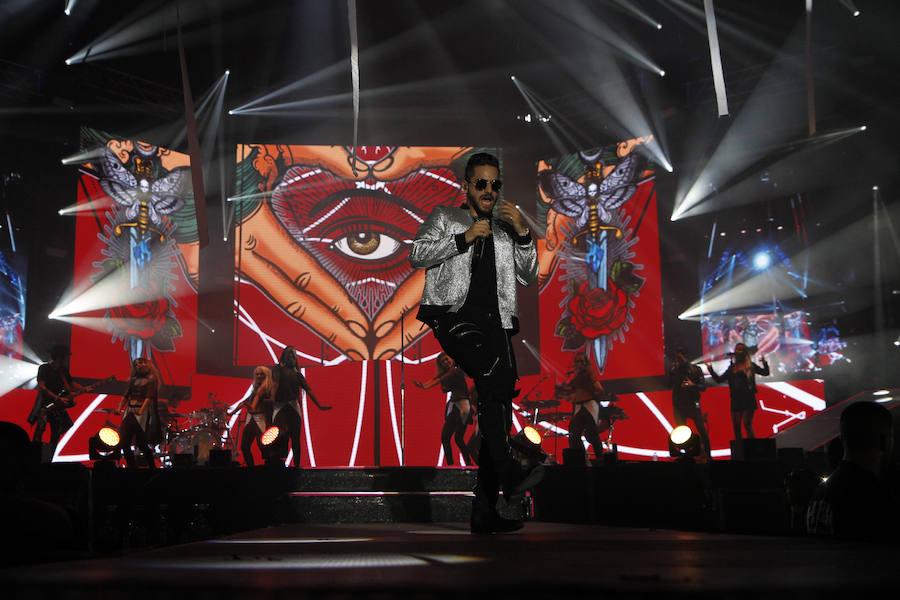 Las mejores fotos del concierto de Maluma en el BEC