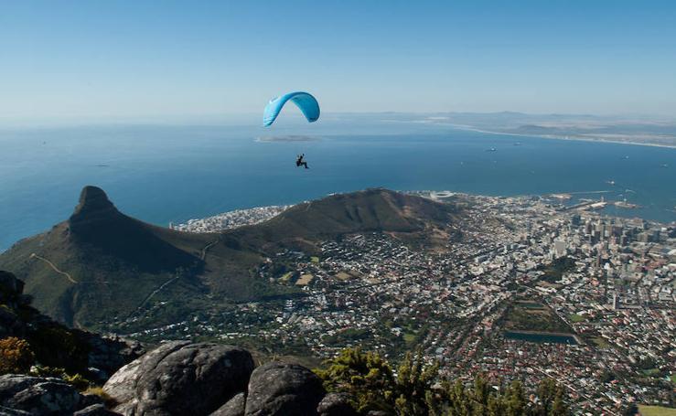 Desde Ciudad del Cabo se ve el fin del mundo