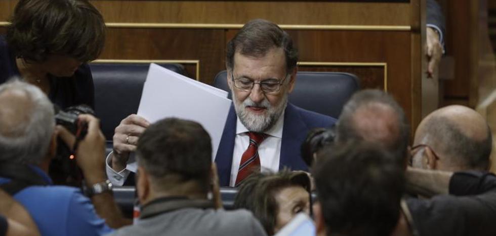 Rajoy, ante el 1-O: «Si se cita a alguien para una mesa electoral, que no vaya»