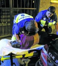 La eliminación de la ambulancia de Plentzia «colapsa» el transporte sanitario en la comarca