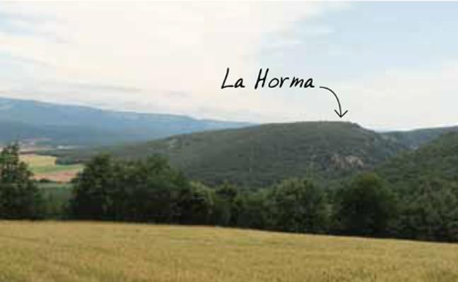 Visita guiada al castro de la Edad del Hierro de La Horma, en Santa Cruz de Campezo