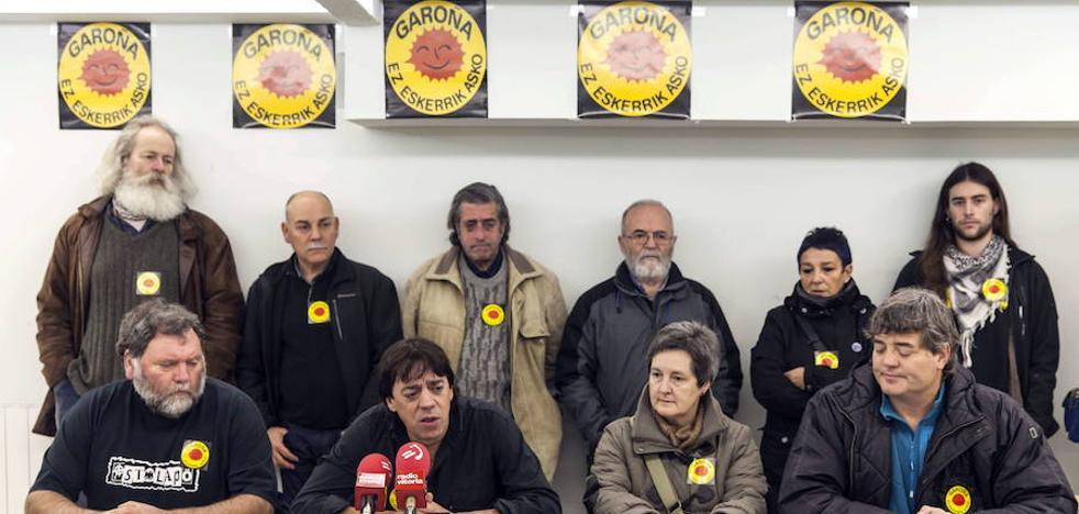 Araba Sin Garoña se disuelve tras quince años de lucha contra la central nuclear