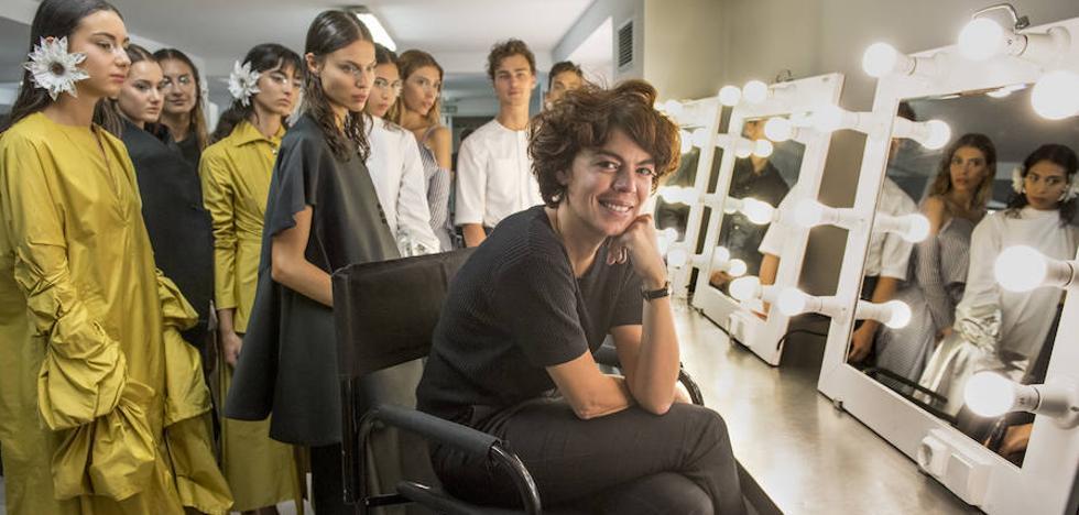 María Clé 'recicla' la Pasarela Cibeles