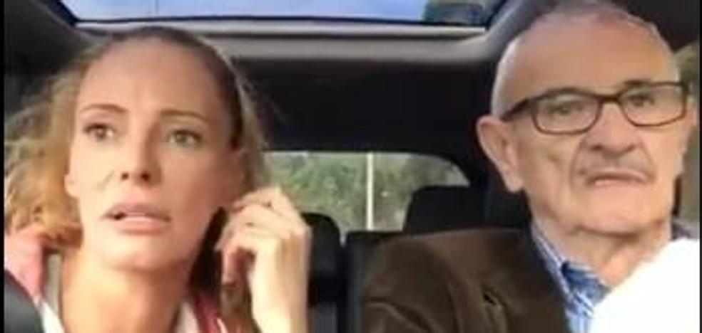 Paula Vazquez desmiente su relación con Pablo Iglesias en un gracioso vídeo junto a su padre