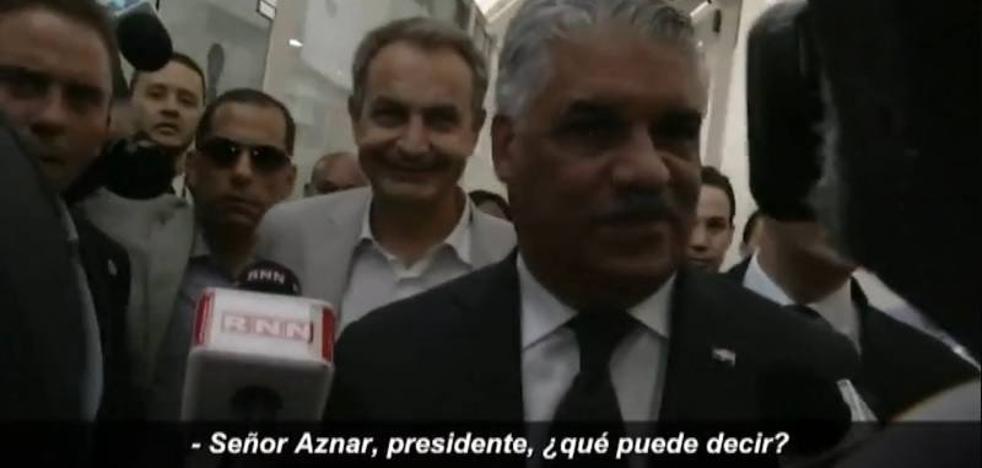 Confunden a Zapatero con Aznar en República Dominicana