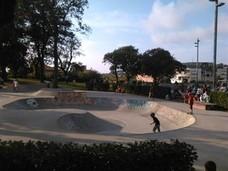 El certamen de skate reanuda las fiestas de Andra Mari de Urduliz