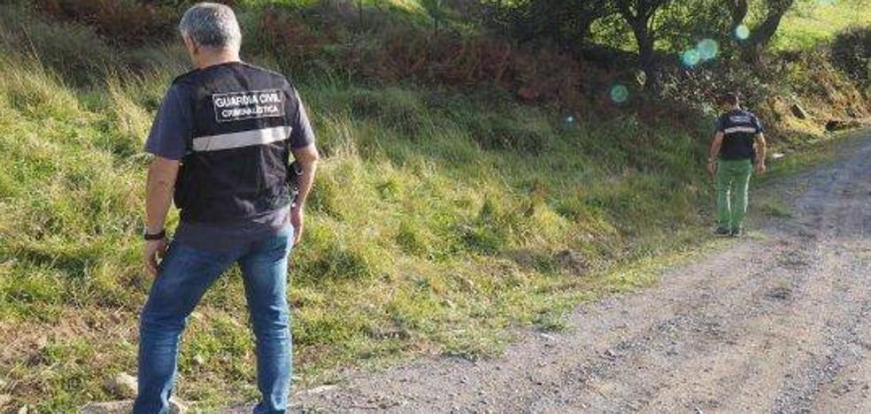 Hallan en una pista forestal de Guriezo a una mujer presuntamente asesinada