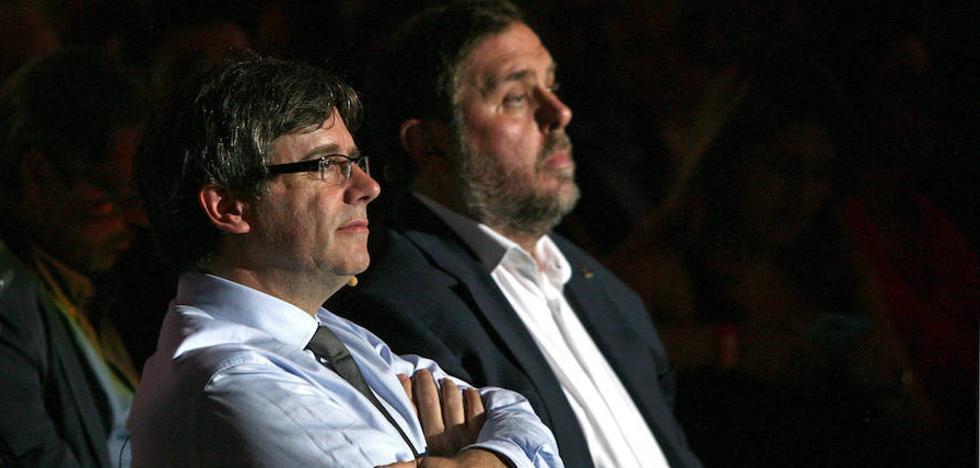 Los soberanistas desoyen a los tribunales y abren la campaña