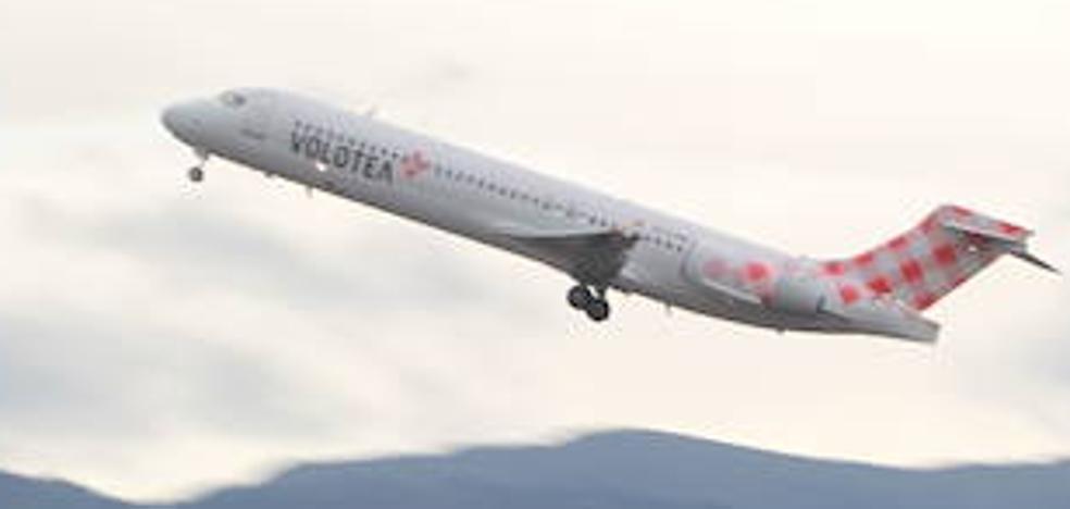 Volotea prevé abrir al menos tres nuevas rutas aéreas desde Loiu el próximo verano