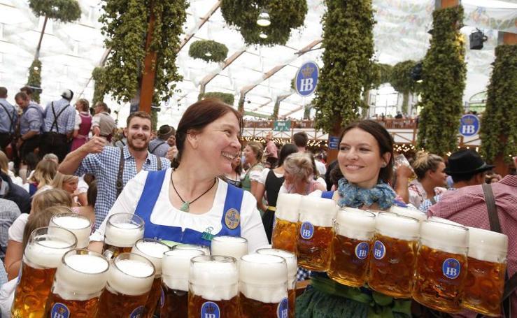 Munich ya celebra el 'Oktoberfest'