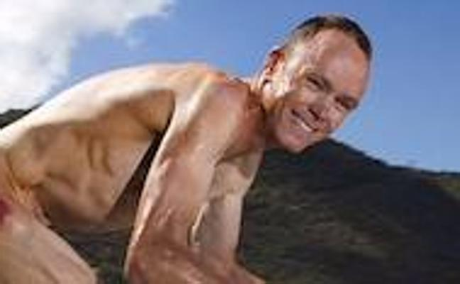 Froome posa desnudo antes del Mundial