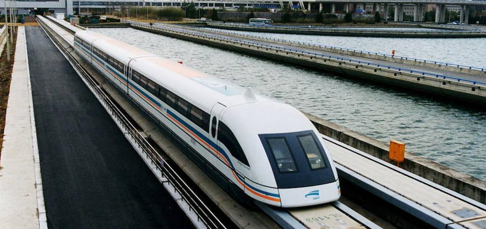 El primer tren de levitación magnética de Pekín se estrena este año