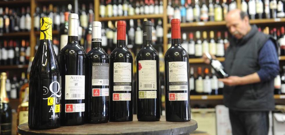 Las exportaciones de vinos de Euskadi alcanzan los cien millones de euros en el primer trimestre