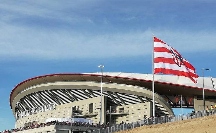 La inauguración del Wanda Metropolitano, en imágenes