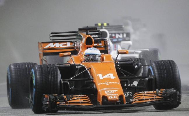 Alonso: «Podíamos haber conseguido podio»