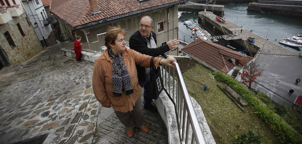 Elantxobe retoma el plan para habilitar un ascensor que una la Atalaya con el puerto