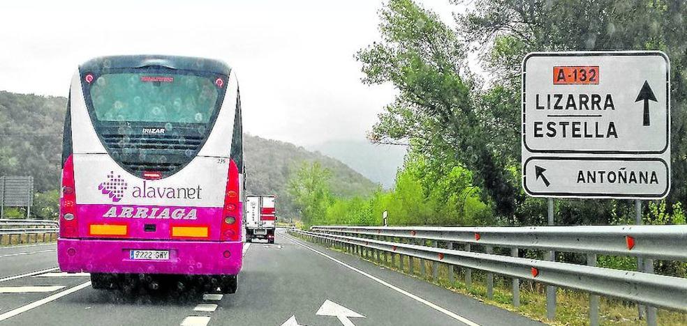 Viajar en las líneas forales de autobús será gratis el viernes