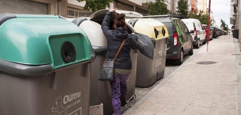 Hallan con vida a un recién nacido en un contenedor en Orense