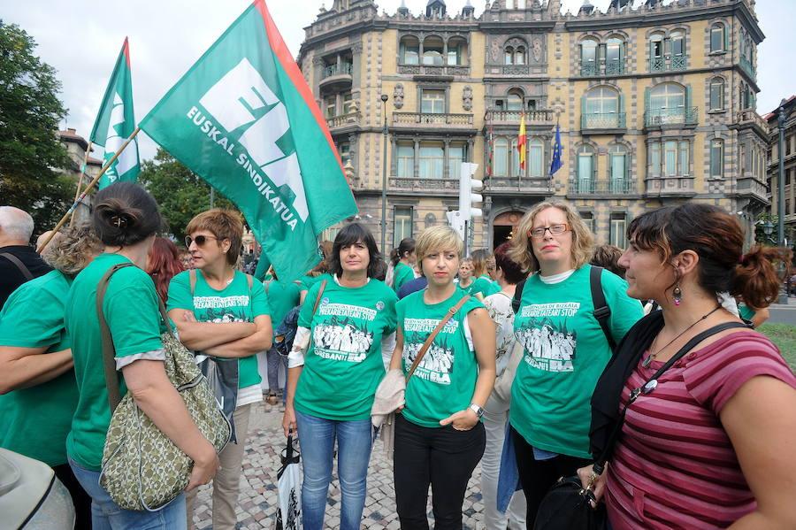 ELA convoca una concentración de mujeres ante el Parlamento vasco por la huelga de las residencias