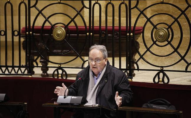 La Mesa de las Juntas Generales abre expediente al portavoz del Grupo Mixto, Arturo Aldecoa