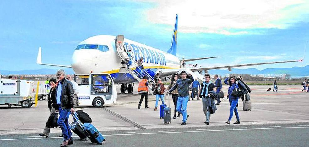 Foronda se libra de la cancelación masiva de vuelos de Ryanair