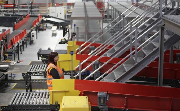 DHL presenta sus nuevas instalaciones en Foronda