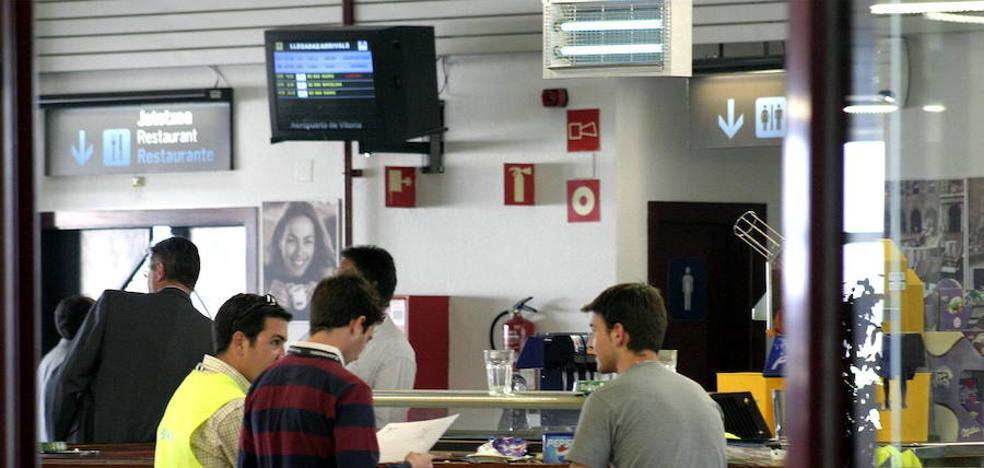 La Diputación presenta a AENA el proyecto para reabrir la cafetería de Foronda