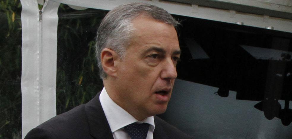 Urkullu llama a Puigdemont para expresarle su «solidaridad» y «preocupación»