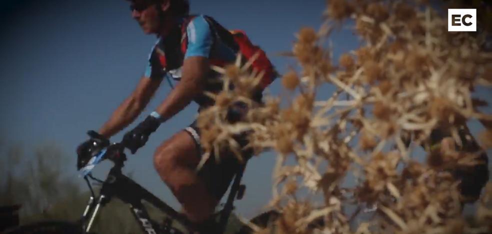 Madrid-Lisboa, en mountain bike sin parar