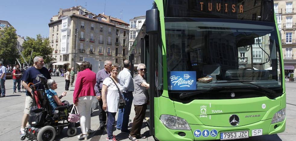 Tuvisa adquirirá diez nuevos autobuses híbridos de doce metros