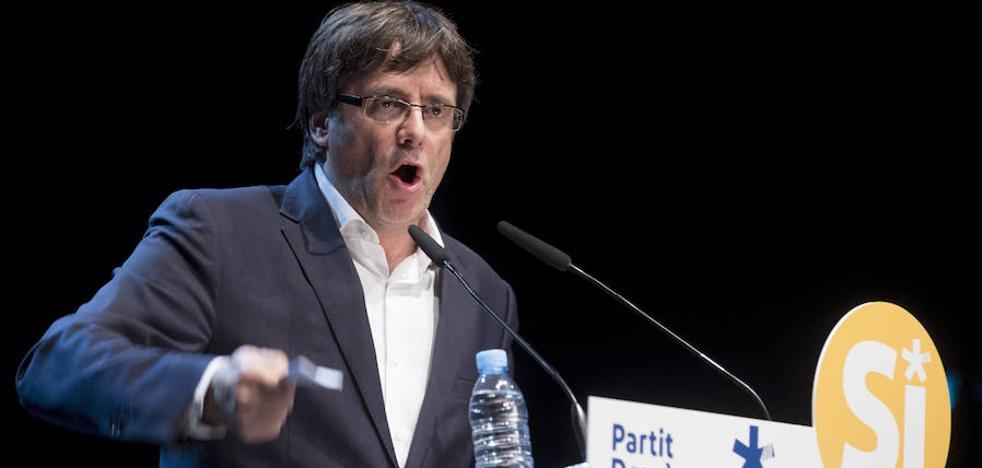 Puigdemont llama a defender el 1-O y anuncia «planes de contingencia» para votar