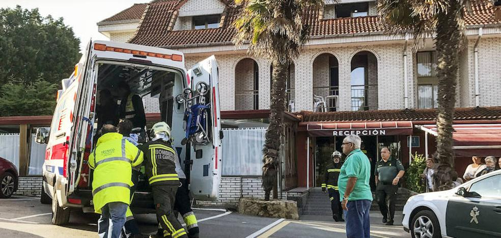 Cinco de los 92 atendidos por una fuga de gas en un hotel de Isla permanecen graves en la UCI