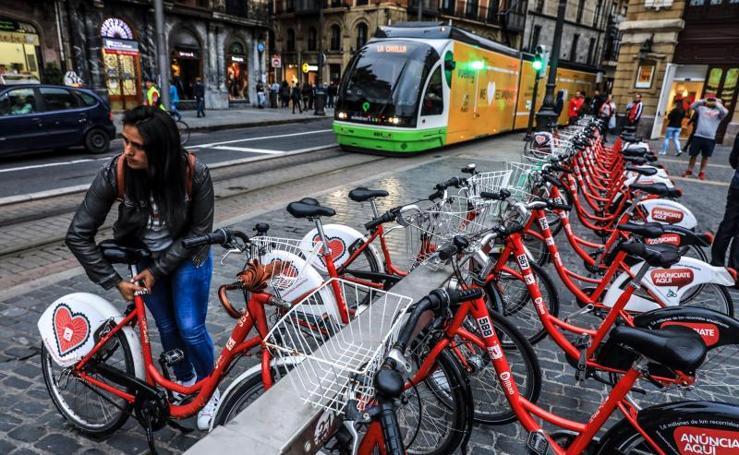 Un día sin coche en Bilbao