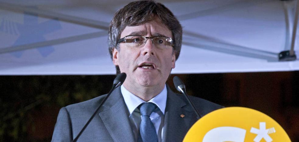 Puigdemont: «Lo siento, España; Cataluña va a votar os guste o no»