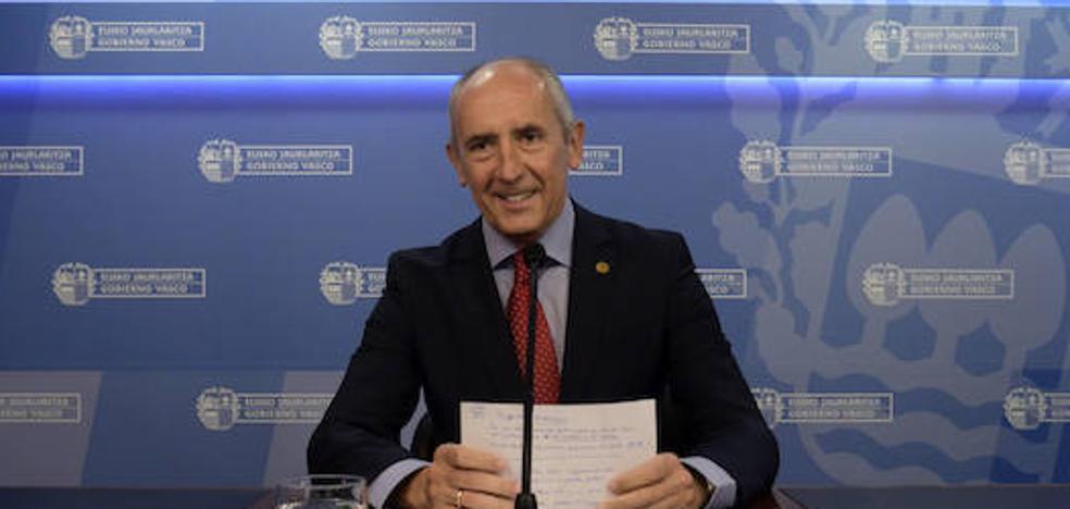 El Gobierno vasco exige a Rajoy 37 transferencias y le acusa de «ningunear» a Euskadi
