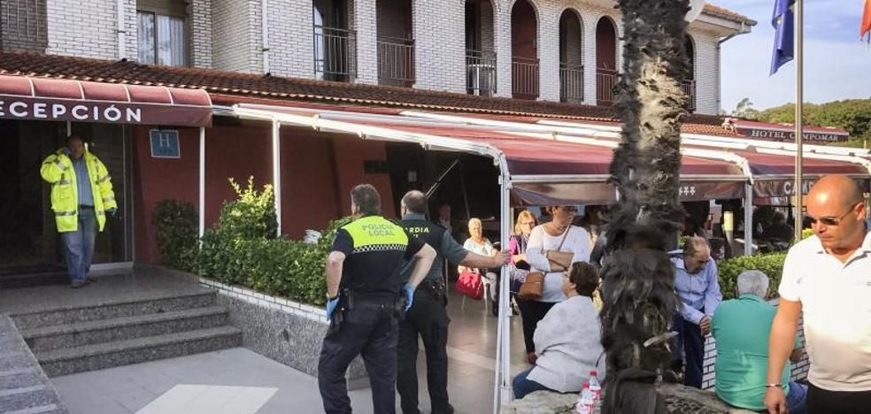 Fallece uno de los afectados por la fuga de gas en un hotel de Isla