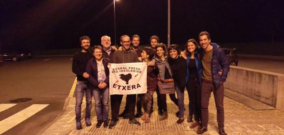 El miembro de ETA Kepa Arkauz abandona la cárcel francesa de Meaux