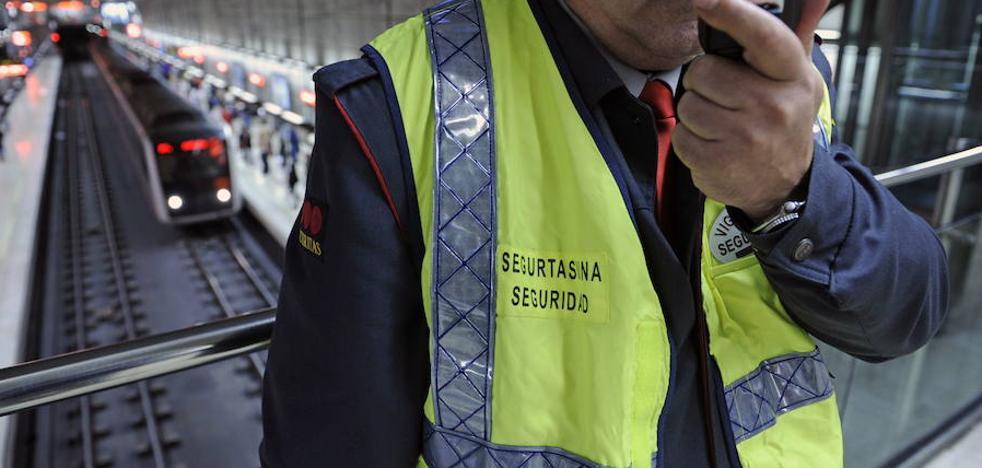 Agreden a un vigilante de metro en la estación de Etxebarri