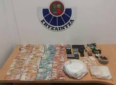 Detenido en Gernika un hombre de 50 años por tráfico de drogas