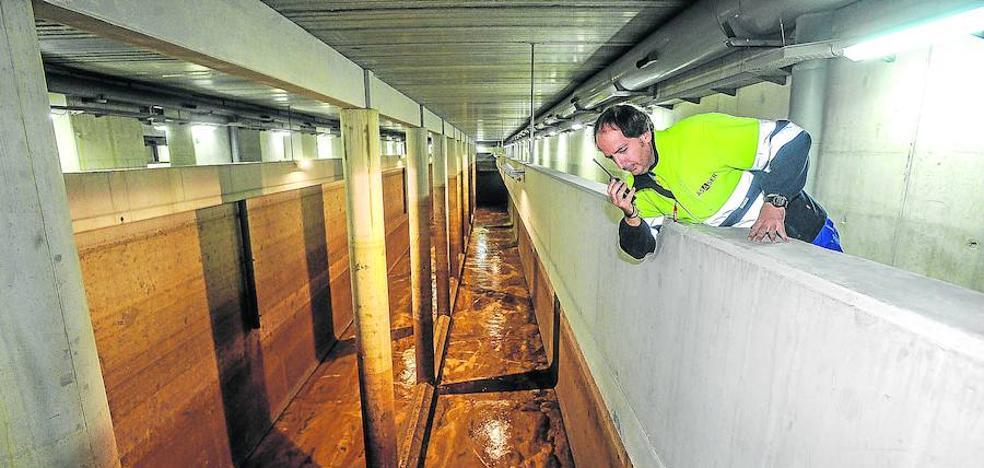 Los bilbaínos podrán beber agua del Nervión a partir de enero en caso de graves sequías