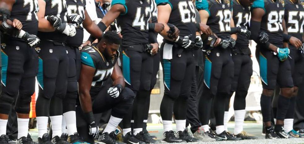 Las estrellas de la NFL desafían la llamada al boicot de Trump