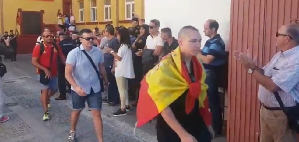 Interior intenta frenar los homenajes de despedida a los agentes desplazados a Cataluña
