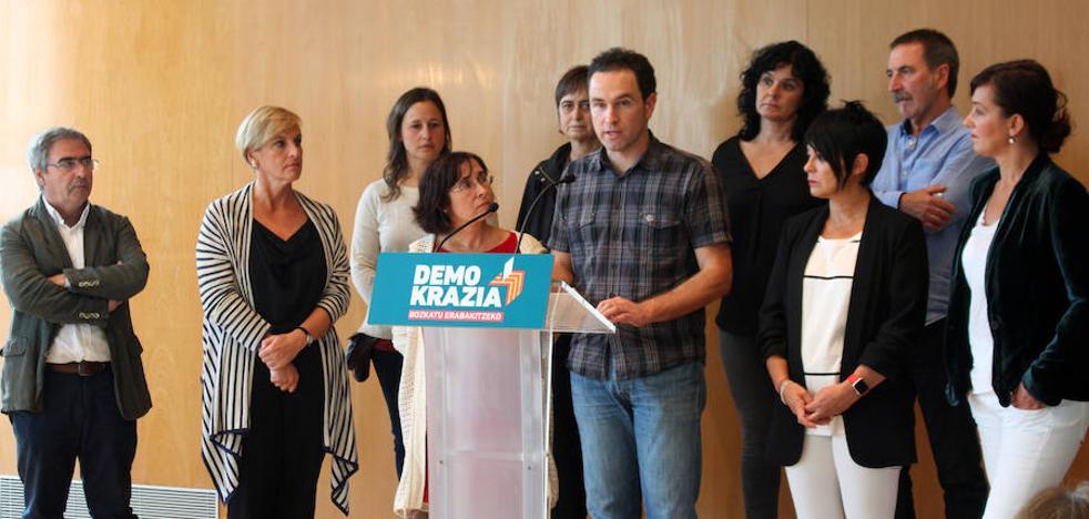 El PNV respalda la manifestación del sábado en favor del derecho a decidir en Cataluña